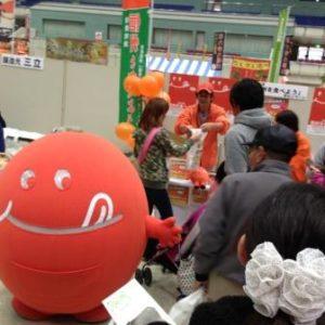 「2013長野まるごと秋祭り」に「旬ちゃん」が登場しました!