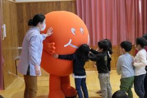 須坂旬ちゃん学校訪問1