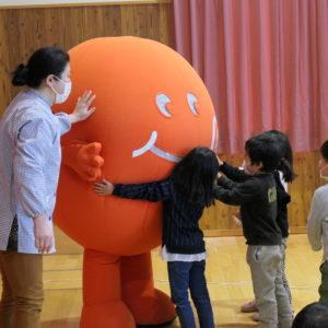 須坂市井上保育園に行ってきました♪(旬ちゃん学校訪問)