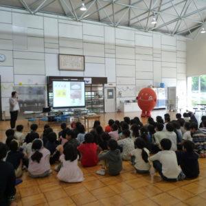 軽井沢中部小学校に行ってきました♪(旬ちゃん学校訪問)
